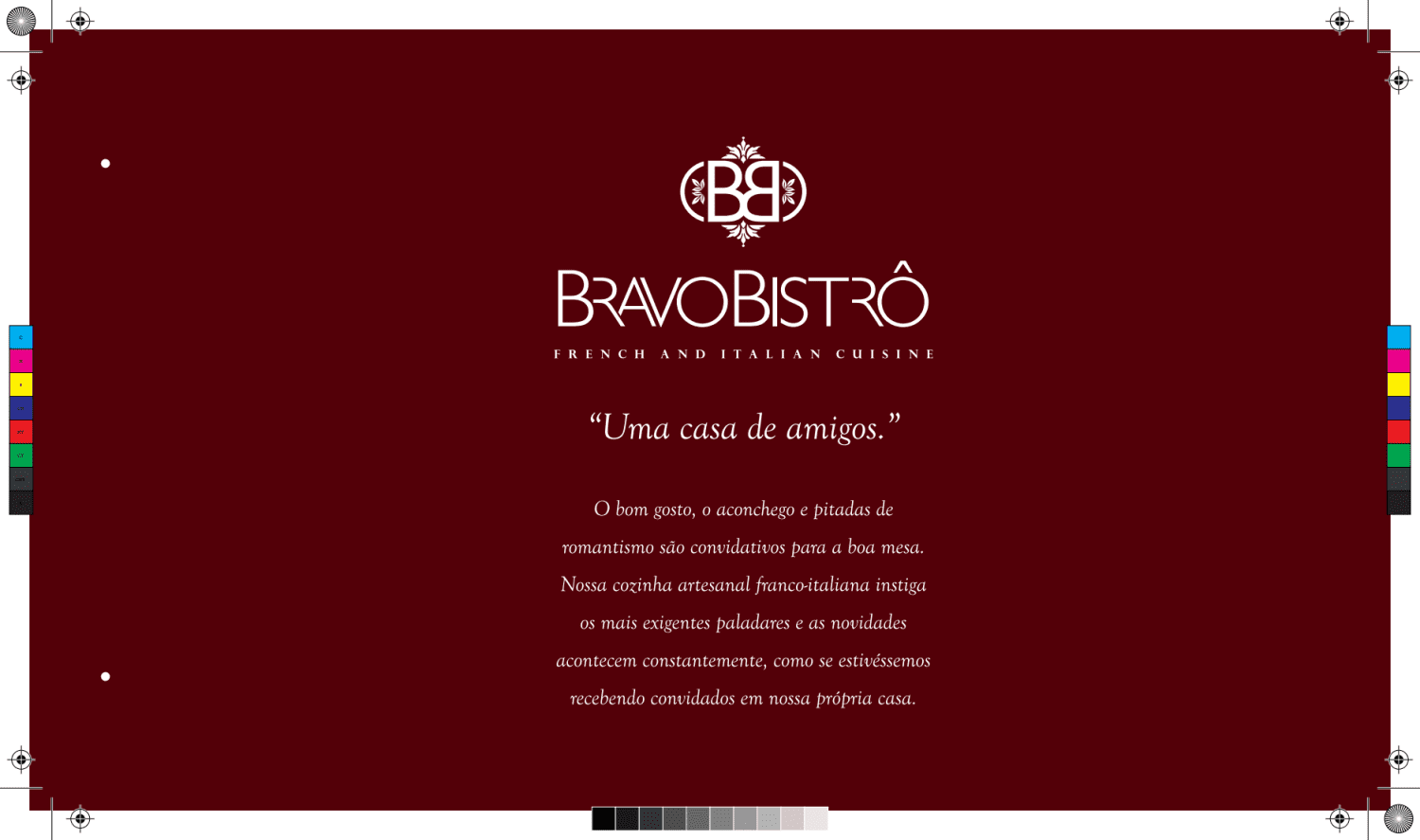 Menu do restaurante Bravo Bistro  - Página 1