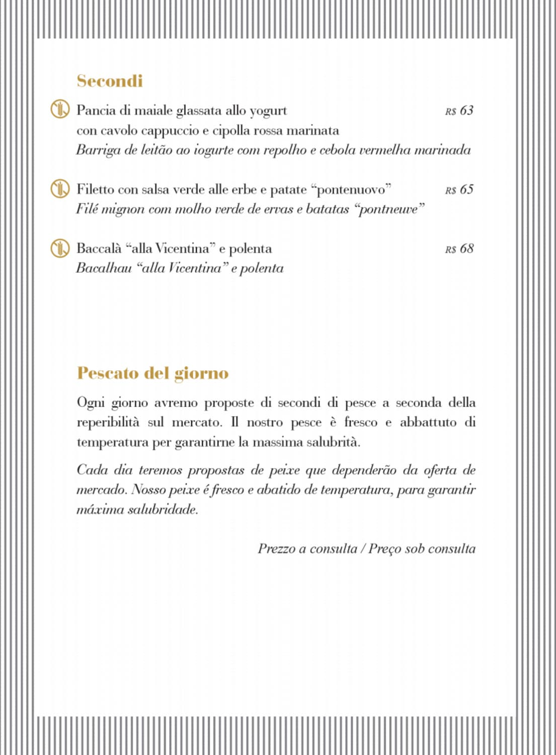 Menu do restaurante Simon Boccanegra - Página 3